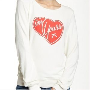 Wildfox I'm Yours Graphic Sweatshirt